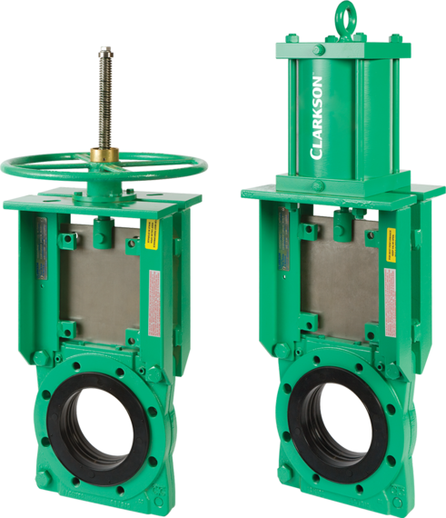 Model KGD Wafer Style Slurry Valve