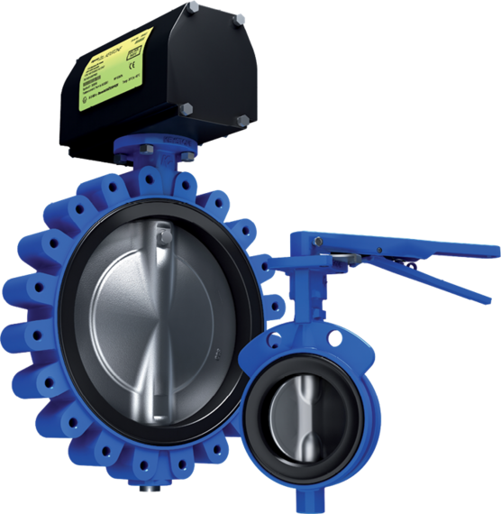 Series GRW/GRL Butterfly Valves